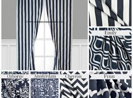 Navy Blue And White Striped Curtains Curtains Compelling Navy Blue Curtains On Sale Beloved Navy Blue