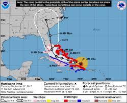 Mexico Hurricane Map How Hurricane Irma Could Be So Destructive To Florida Temblor Net
