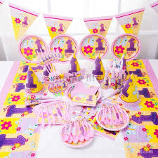 aliexpress buy 90pcs folwer birthday decoration set