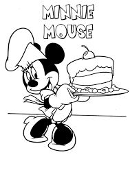 mickey mouse coloring page 19