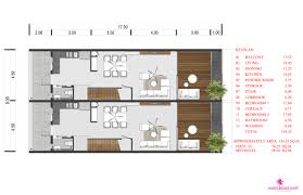 2 bedroom townhouse floor plans choeng mon 2 bedroom townhouses samui samui island realty