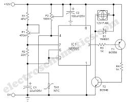 smart cooling fan circuit