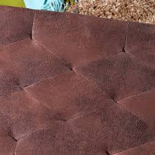 Schlafzimmer Bank Antik Design Sitzbank William 90cm Antik Braun Holz Microfaser