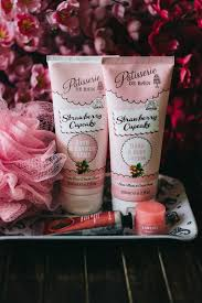 patisserie de bain strawberry cupcake body lotion shower creme august 15 2017