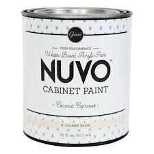 is nuvo cabinet paint nuvo cabinet paint quart 31 fl oz coconut espresso 31 fl oz