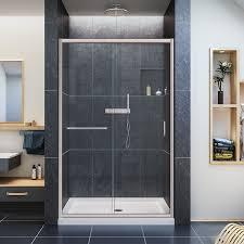 Shower Door Width Recommended Best Sliding Shower Door Reviews Guide