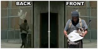 Tyreese Walking Dead Meme - tyreese failing dead