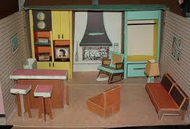 tammy u0027s ideal cardboard doll house 1963 vintage barbie