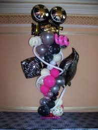 Table Top Balloon Centerpieces by Bar Mitzvah Balloon Centerpiece It U0027s Your Party Pinterest