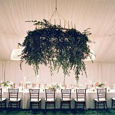wedding reception decoration ideas wedding reception decor trend we suspended greenery