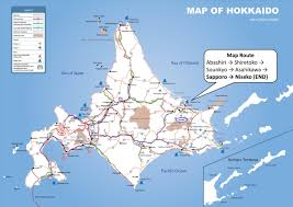 World Mountain Ranges Map by From A Canal To A Mountain Range 4 4 U2013 Hokkaido Government