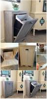 best 25 wooden trash can ideas on pinterest kitchen