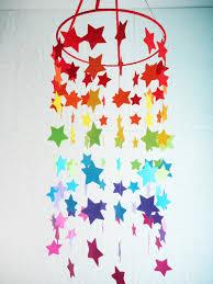 Rainbow Bedroom Decor Stars Rainbow Mobile Art Pinterest Sensory Rooms Room Decor
