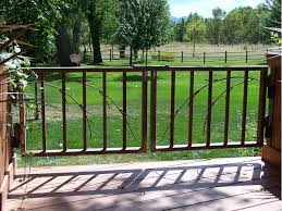 deck gates deck design and ideas