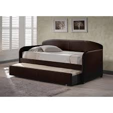 Modern Daybed With Trundle Hillsdale Furniture Springfield Brown Trundle Day Bed 1613dbt