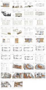 Houses Floor Plans by 143 Best Tiny House Drawings Images On Pinterest House Floor