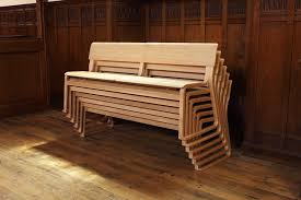 Church Pew Style Bench Theo Chairs Chorus Church Furniture Theo Pew Benches Stackable