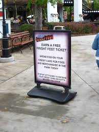 Six Flag Fright Fest Tickets Six Flags Great America Fright Fest 2011 Coaster101