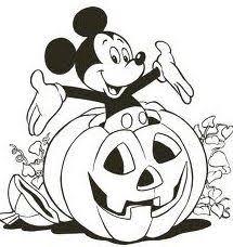 halloween pumpkin coloring math craft