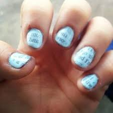 try painting your ring finger on each hand a different color as