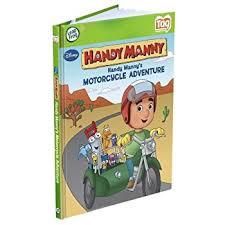 amazon leapfrog tag activity storybook handy manny u0027s