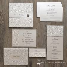 Wedding Invitations Packages Save 15 20 Off Wedding Invitation Packages White Cherry
