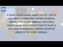 what do different colors mean what do the different colors mean in turnitin youtube