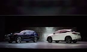 lexus hybrid suv 7 seater lexus readies 3 row rx crossover