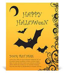 Happy Halloween Poster Template U0026 Design Id 0000002950
