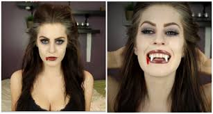 Vampire Halloween Makeup Tutorial Bride Of Dracula Halloween Makeup Tutorial Youtube