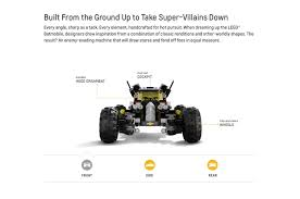 detroit monster truck show chevrolet introduces life sized lego batmobile at detroit auto