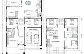 split entry floor plans split entry home plans house open concept design ranch modern garage