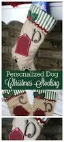 diy personalized christmas stocking mommadjane