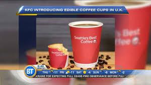Coffee Kfc business report kfc s edible coffee cup netflix offers care bears