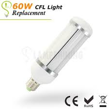 Led Versus Fluorescent Light Bulbs by 20 Watt Led Corn Light Bulbs Replacement Cfl Light 60w