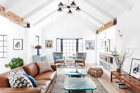 Exposed Beam Ceiling Living Room by Interiors Nordic Scandinavian Interior Features Living Room With