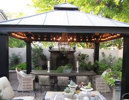 outdoor cing lights string gazebo design inspiring open air gazebo open air gazebo backyard