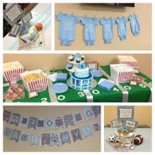 sport themed baby shower baby boy sports themed baby shower baby shower