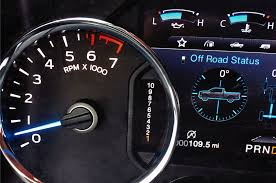 all ford f150 2017 ford f 150 gear display shows all 10 speeds photo image gallery