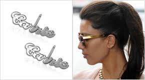 Personalized Name Earrings Name Jewelry Is Huge Again Mynamenecklace