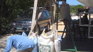 Corn Furnace 4 Flat Bed Paddy Dryer With Rice Hull Furnace For Rice Corn Youtube