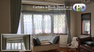 baywindow roman blinds at www leadinginteriors com youtube