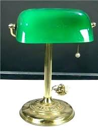 green glass shade bankers l bankers desk l jayhaze org