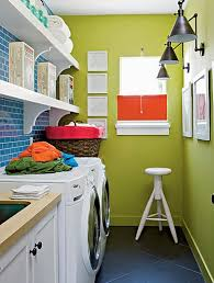 two color combination laundry room home interiors