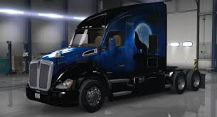 kw trucks pictures kenworth t680 wolf skin 1 0 0 american truck simulator mod ats mod