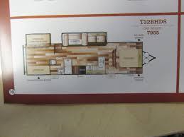 salem travel trailers floor plans 2018 forest river salem 32bhds travel trailer bakersfield ca