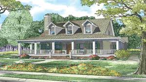 wrap around porch house plans rustic craftsman ranch house plans