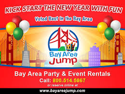 bay area party rentals kickstart 2018 with bay area jump san jose s 1 party and event