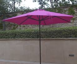 Patio Umbrella Canopy Replacement 8 Ribs by Amazon Com 9ft Umbrella Replacement Canopy 6 Ribs In Fuchsia