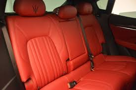 maserati levante interior back seat 2017 maserati levante stock w371 for sale near greenwich ct